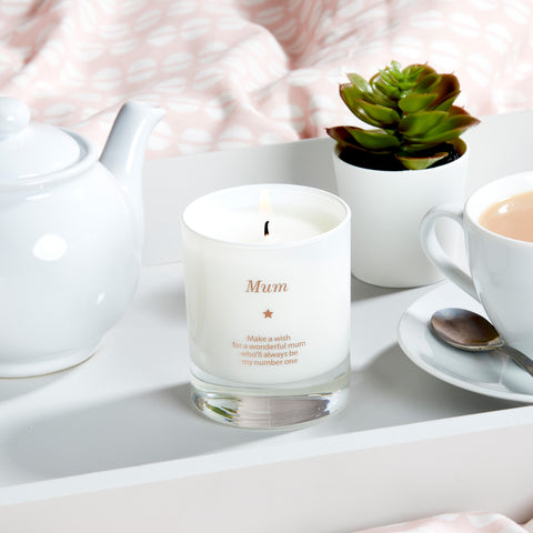 Make a Wish For a Wonderful Mum Candle - makeawishcandleco