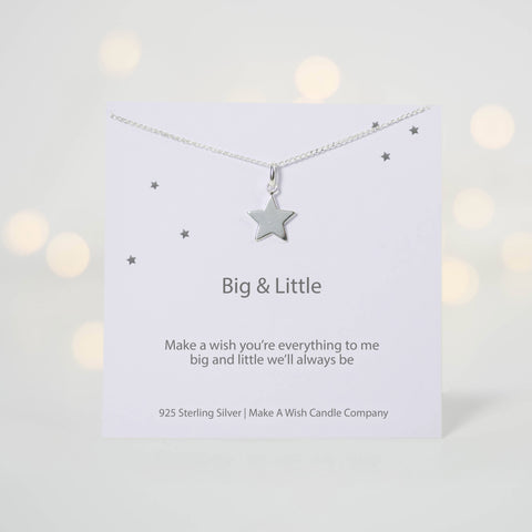 Big & Little Sorority Make A Wish Necklace - makeawishcandleco