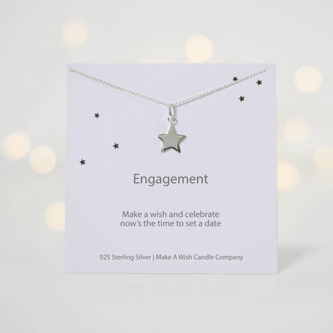Engagement Make A Wish Necklace - makeawishcandleco