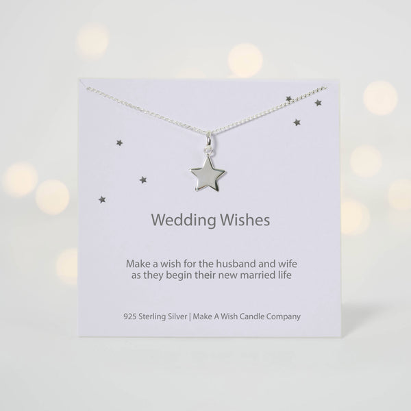 Wedding Wishes - Make a Wish Necklace - makeawishcandleco