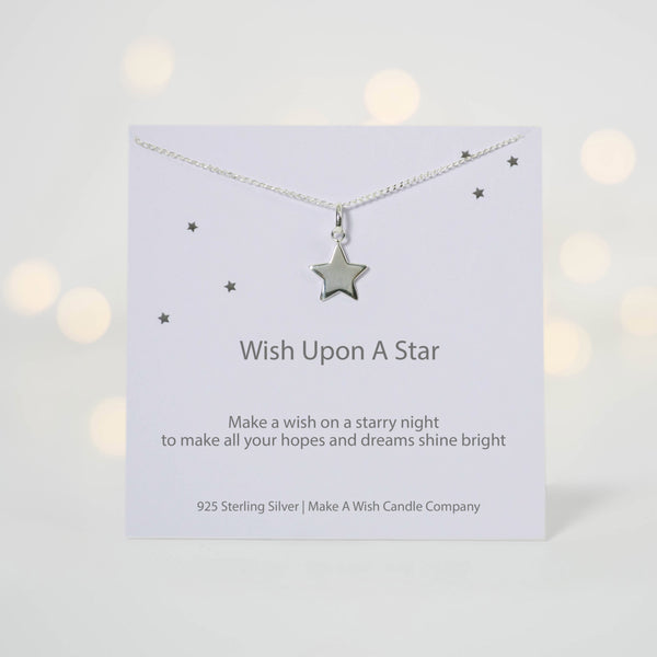Upon a Star Make a Wish Necklace - makeawishcandleco