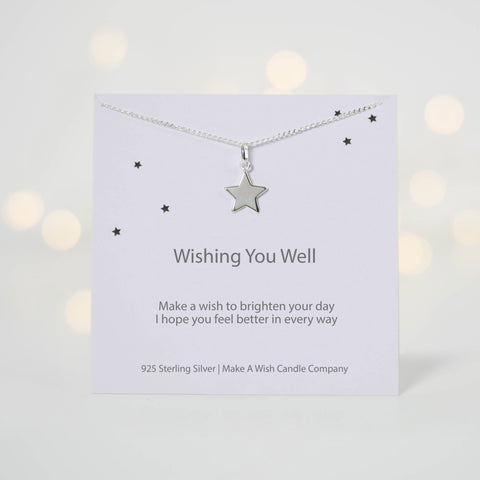 Wishing You Well Make A Wish Necklace - makeawishcandleco