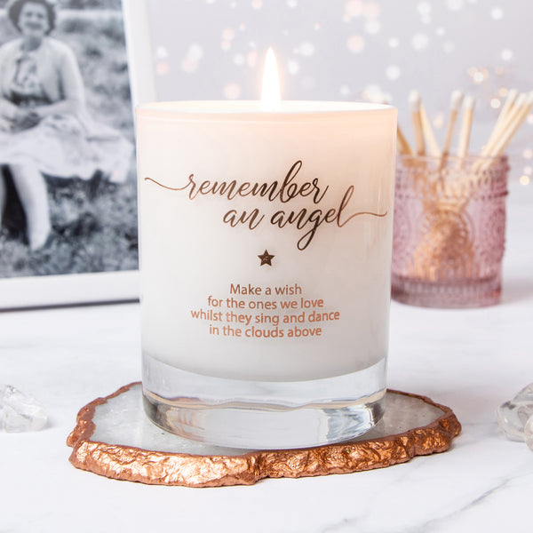 Make a Wish to Remember an Angel Candle (Bereavement)