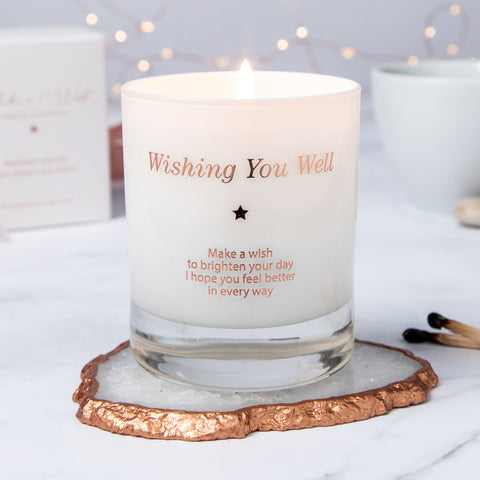 Make a Wish - Wishing You Well Candle (Get Well Soon)