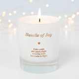 Make a Wish For a Bundle of Joy Candle - makeawishcandleco