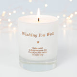Make a Wish - Wishing You Well Candle (Get Well Soon) - makeawishcandleco