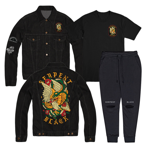 Serpent x Black Denim Jacket