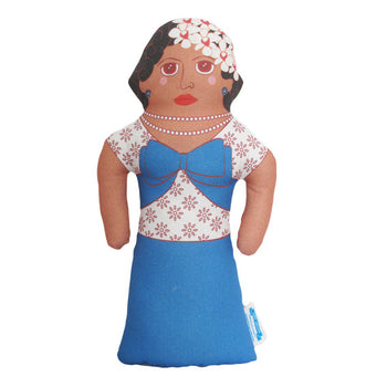 Billie Holiday Pillow Doll