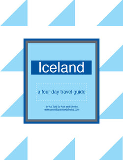 Iceland 4 Day Itinerary Travel Guide