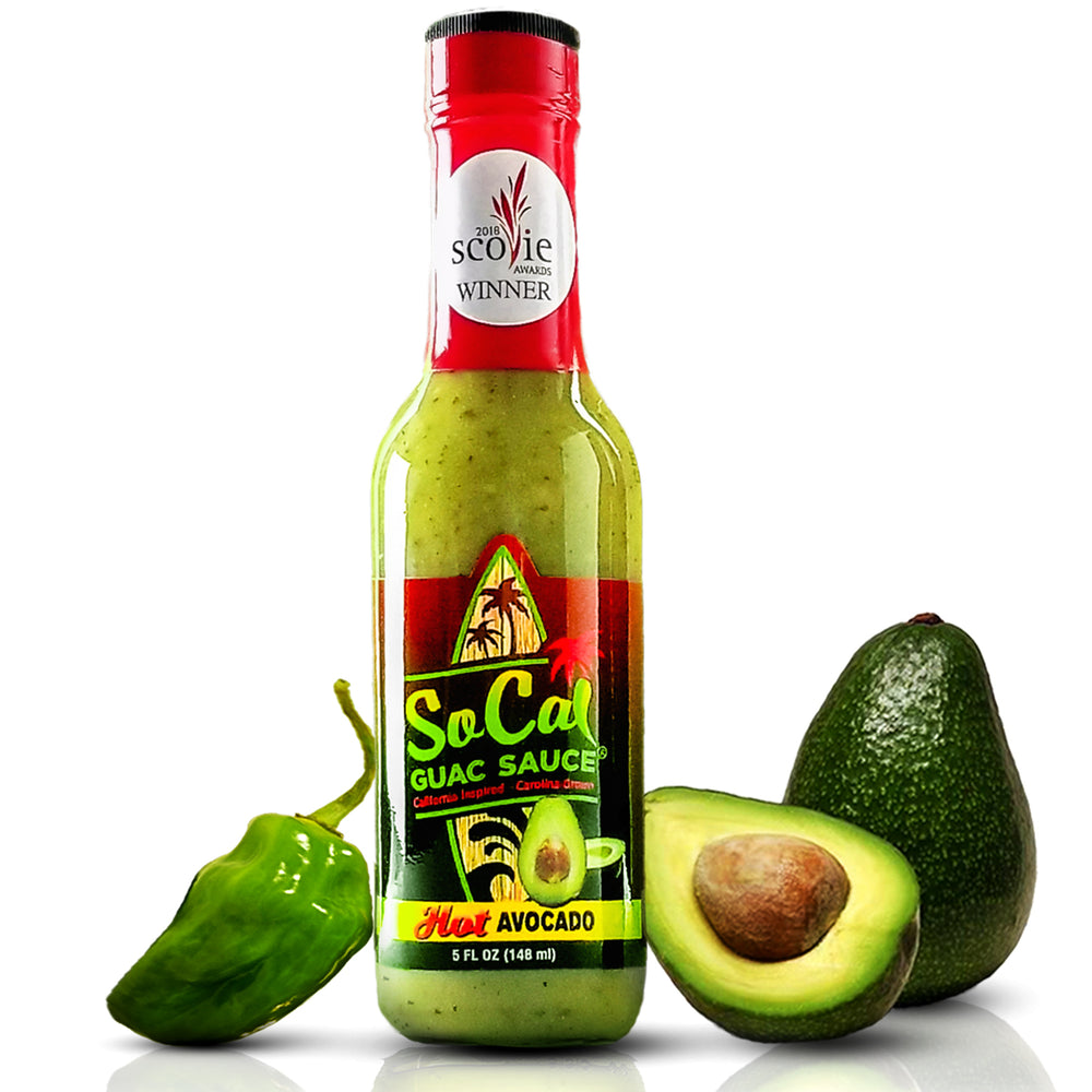 Hot Avocado SoCal Guac Sauce™ - Single Bottle - SoCal Hot Sauce® - SoCal Hot Sauce®