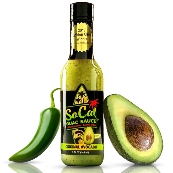 The Original Avocado SoCal Guac Sauce® - SoCal Hot Sauce®