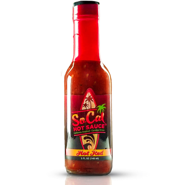 Hot Red SoCal Hot Sauce® - SoCal Hot Sauce®