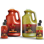Hot Avocado and Hot Red 64 oz Jug Combo Pack