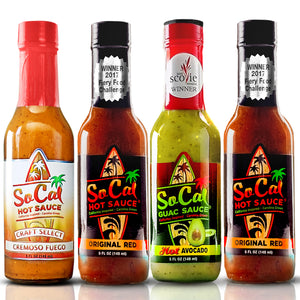 Torta recipe kit - SoCal Hot Sauce