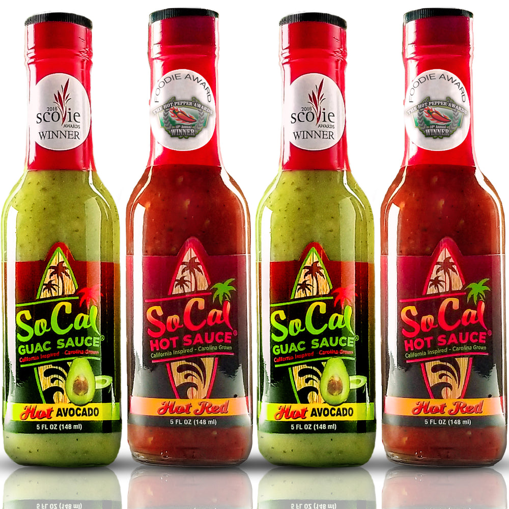 SoCal Hot Sauce® Hot Pack - SoCal Hot Sauce®