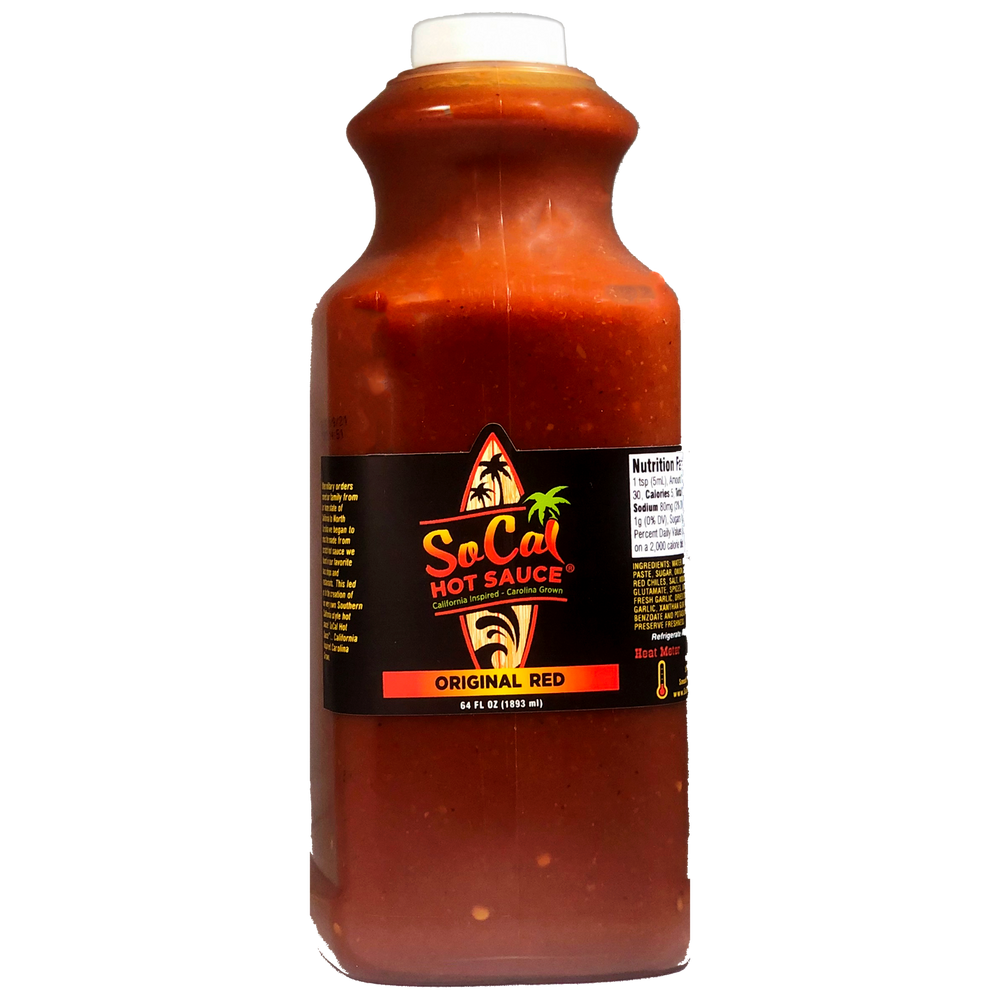 The Original Red SoCal Hot Sauce®
