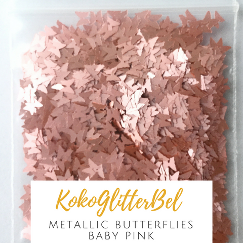 Metallic Gold Butterfly