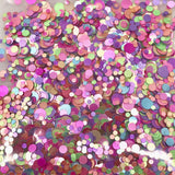 Metallic Glitter Dot Mix - KokoGlitterBel