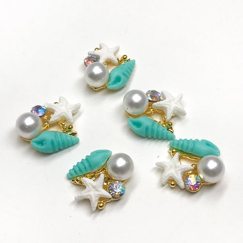 Mermaid Nail Charms - KokoGlitterBel
