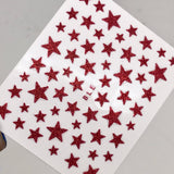 Red Star Decals