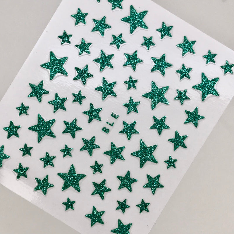 Green Star Decals