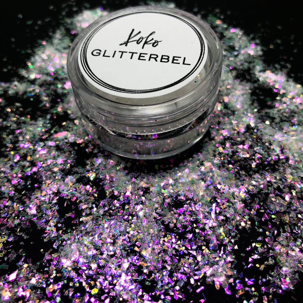 Iridescent Flakes - Flashy - KokoGlitterBel