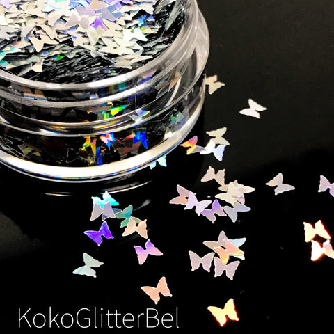 Metallic Butterflies- Green