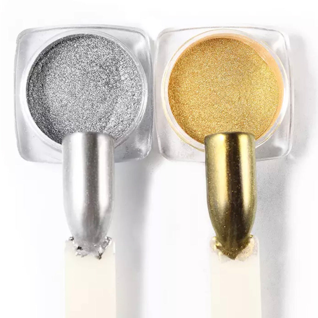 Gold & Silver Chrome Pigment