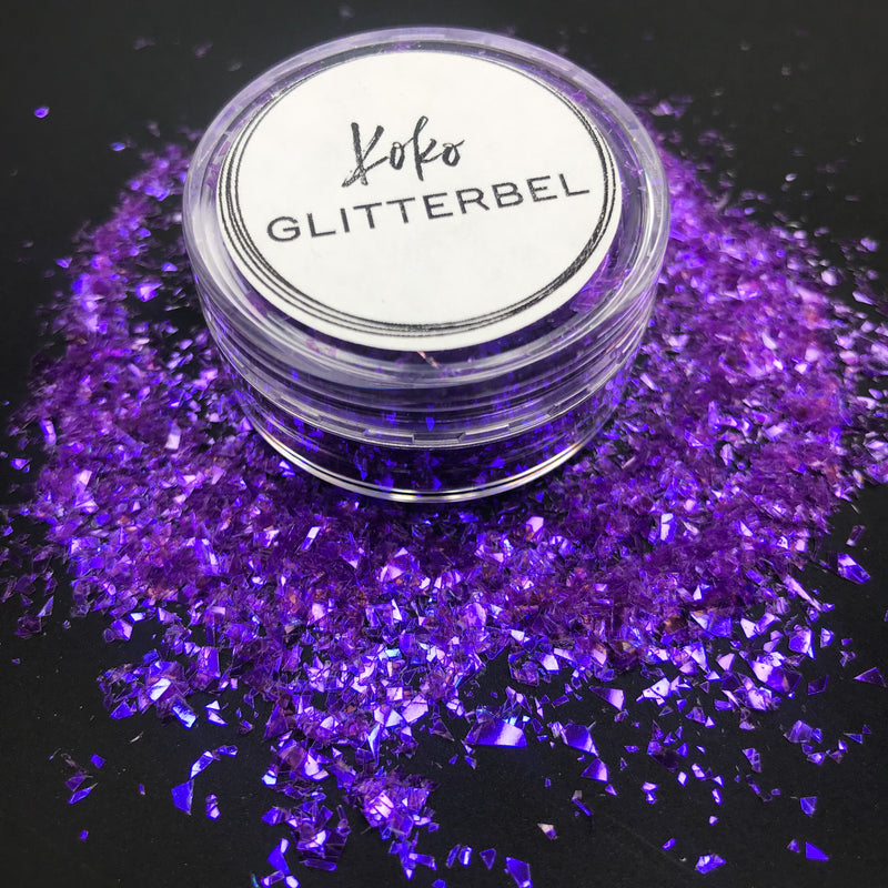 Purple Mylar Flakes