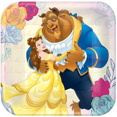 "Beauty And The Beast 7"" Cake Plates (8)"