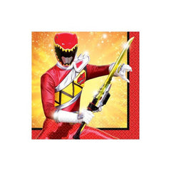 Power Rangers Dino Charge Small Beverage Napkins (16)