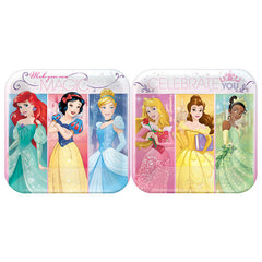 "Disney Princess Cake Plates 7"" (8)"