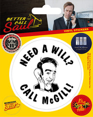 Better Call Saul Vinyl Sticker