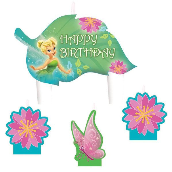 Tinkerbell Candle Set (4)