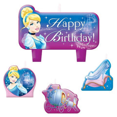 Cinderella Candle Set (4)
