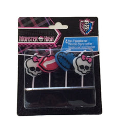 Monster High Mini Figure Candles (4)