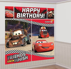 Cars Giant Scene Setter Decoration