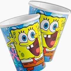 Sponge Bob Square Pants 9oz Cups (8)