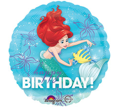 Disney Little Mermaid 'Happy Birthday' Foil Balloon
