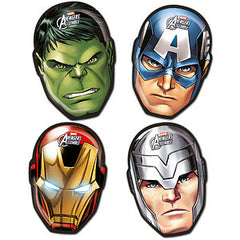Marvel Avengers Face Shaped Plates (4)