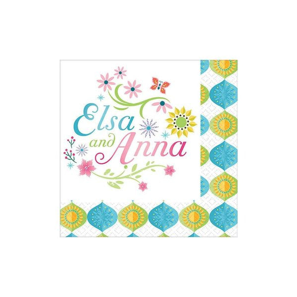 Frozen Fever Beverage Napkins (16)