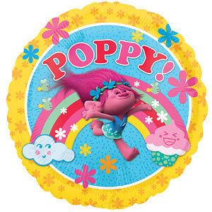 Trolls 'Poppy' Foil Balloon