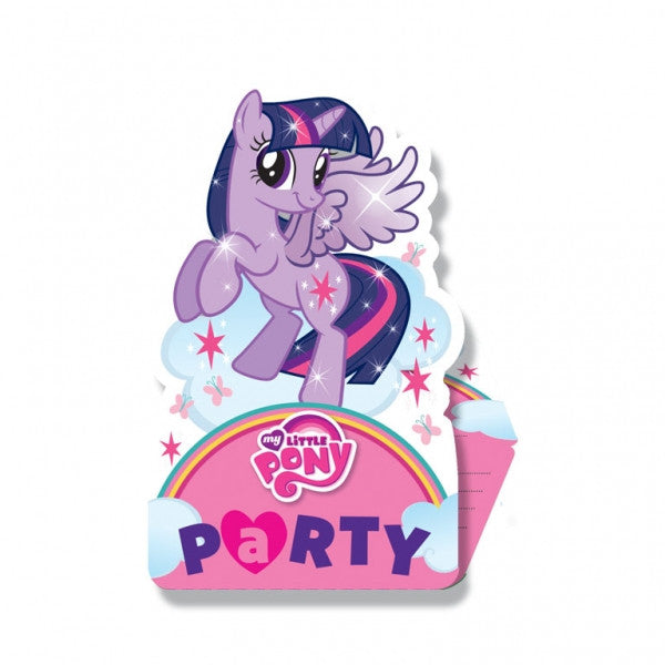 My Little Pony Invitations and Envelopes (8)