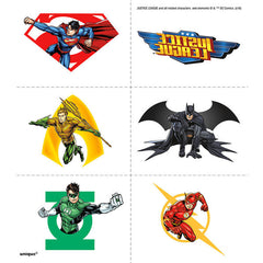 24 Justice League Tattoos on 4 sheets