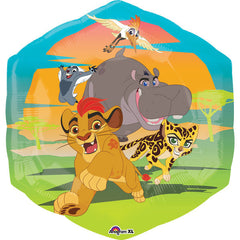 Disney Lion Guard Jumbo Helium Foil Balloon (Deflated)