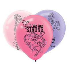 Disney Tangled Latex Balloons (6)