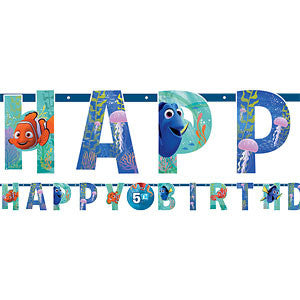 Finding Dory Add An Age Happy Birthday Banner