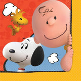 Snoopy Peanuts Lunch Napkins (16)
