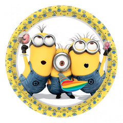Despicable Me Minions Lunch Plates (8)