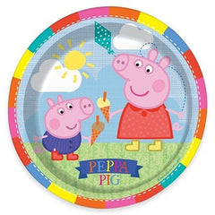 "Peppa Pig 9"" Lunch Plates (8)"